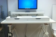DIY IKEA standing desk