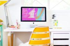 DIY stylish desk from IKEA items