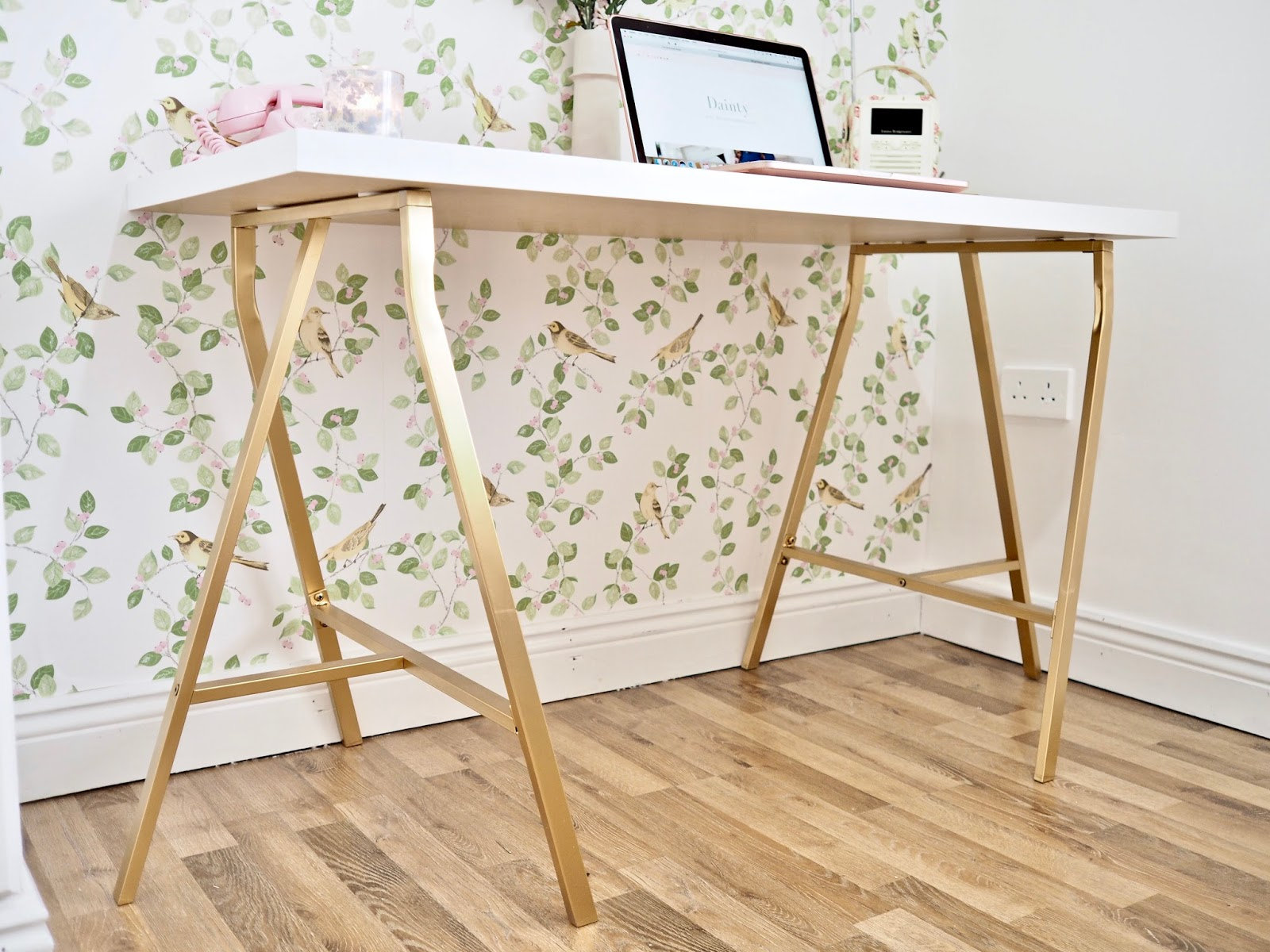 DIY Linnmon and Lerberg desk hack