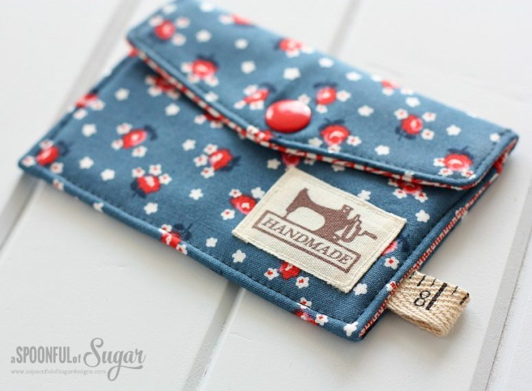 DIY business card wallet (via aspoonfulofsugardesigns.com)