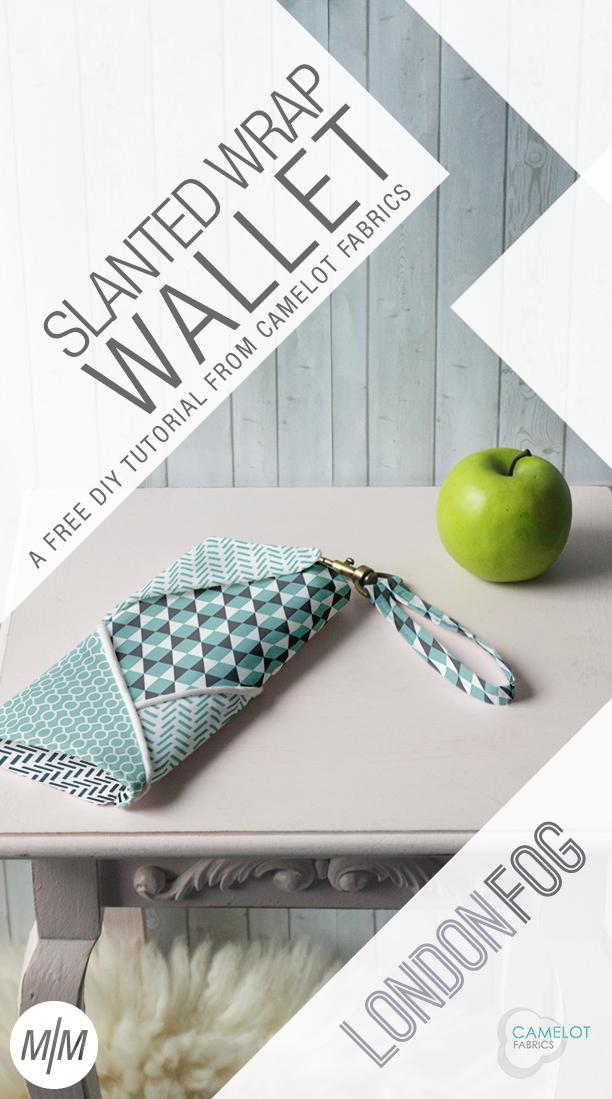 DIY slanted wrap wallet (via www.camelotfabricsblog.com)