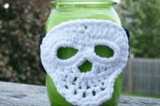 DIY skull lantern