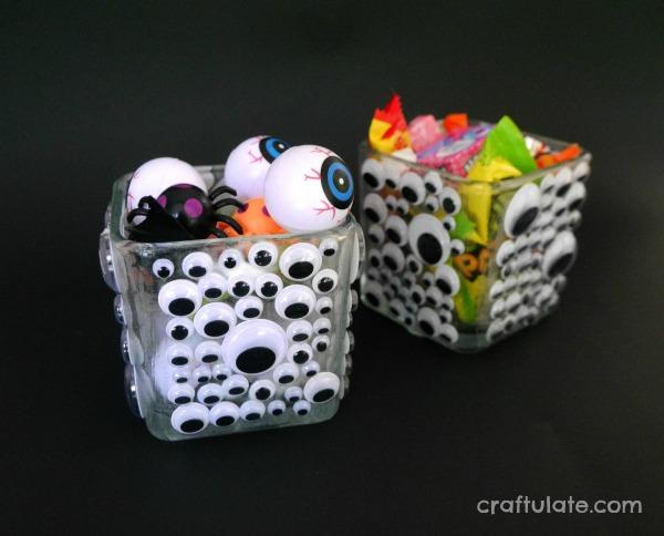 DIY glow in the dark googly eyes bowls (via craftulate.com)