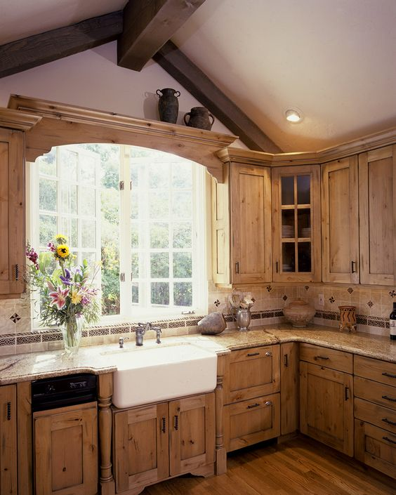 Rustic Cabinets Kitchen: 15 Cool Wood Cabinets Ideas For Rustic Kitchens
