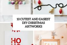 10 cutest and easiest diy christmas artworks cover