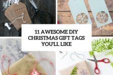 11 awesome diy christmas gift tags you'll like cover