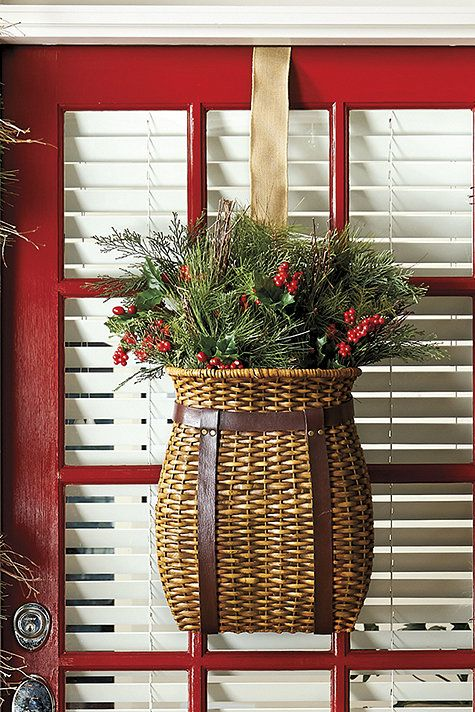 15 Winter Basket Arrangements You Ll Like Shelterness