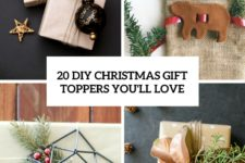 20 diy christmas gift toppers you'll love cover