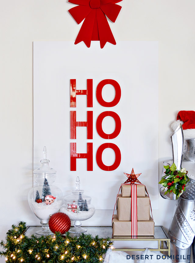 DIY Ho Ho Ho artwork