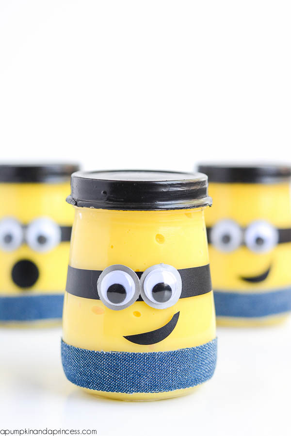 DIY minion slime (via apumpkinandaprincess.com)
