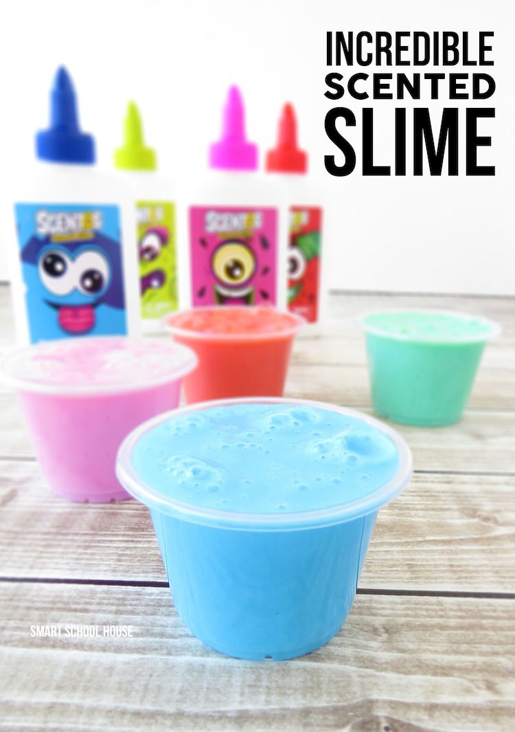 DIY scented slime