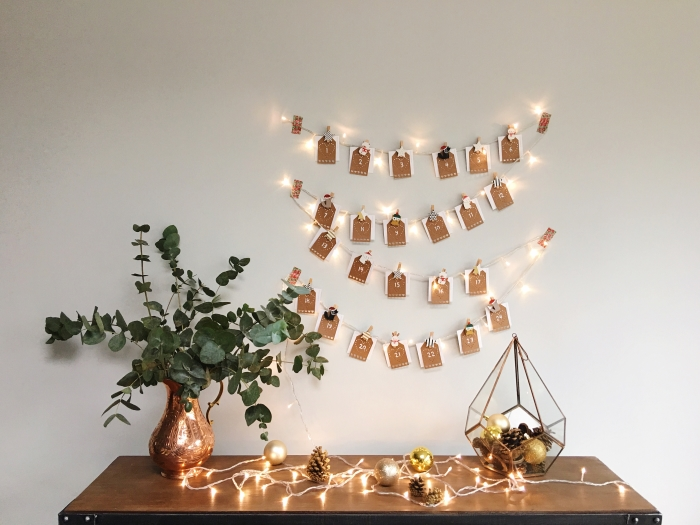 DIY photo advent calendar (via www.lingyeungb.com)