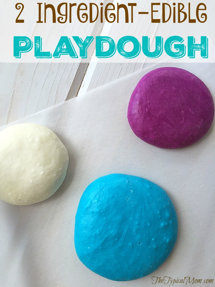 DIY edible playdough recipe (via temeculablogs.com)