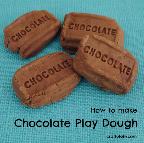 DIY chocolate playdough