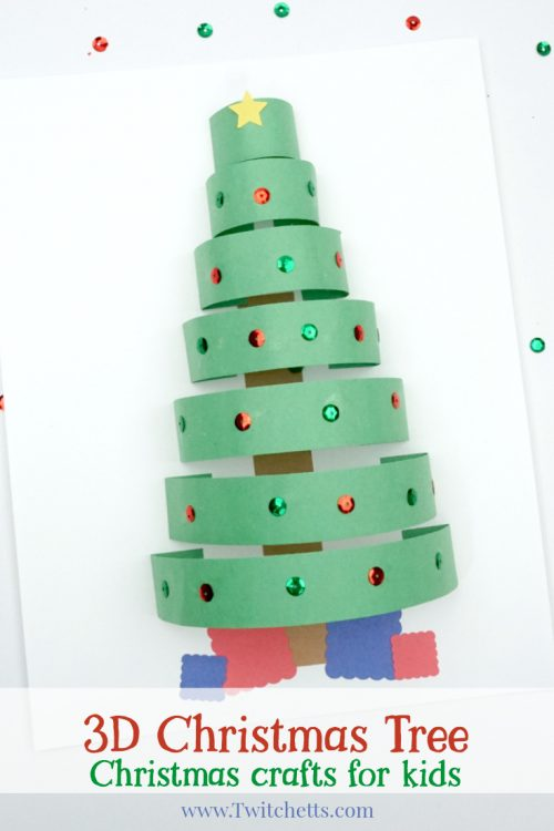 DIY 3D paper Christmas tree (via twitchetts.com)