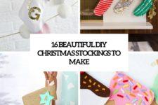 16 beautiful diy christmas stockings to make cover