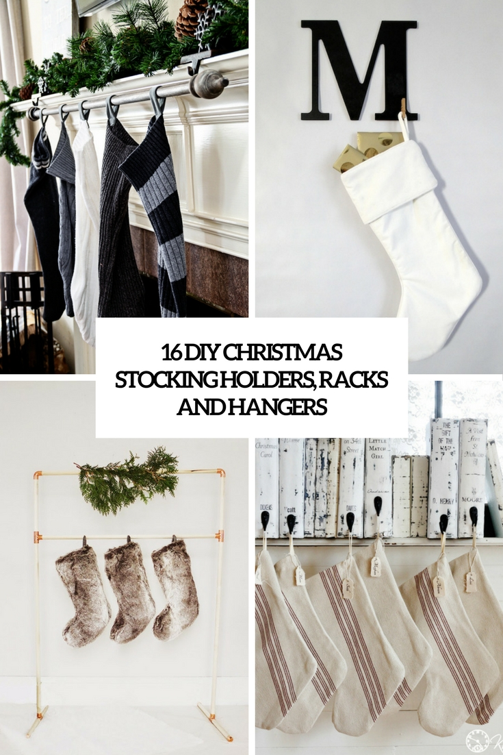 diy christmas stocking holders, racks and hangers cover