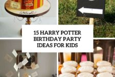 15 harry potter birthday party deas for kids cover