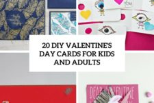 20 diy valentine's day cards for kids and adults cover