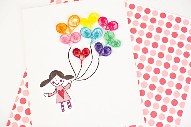 DIY colorful quilling wall art (via www.hellowonderful.co)