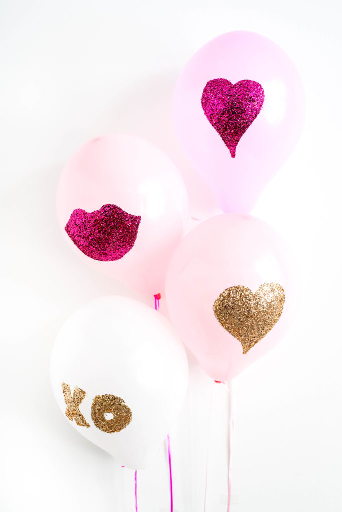 DIY glitter balloons (via www.letsmingleblog.com)