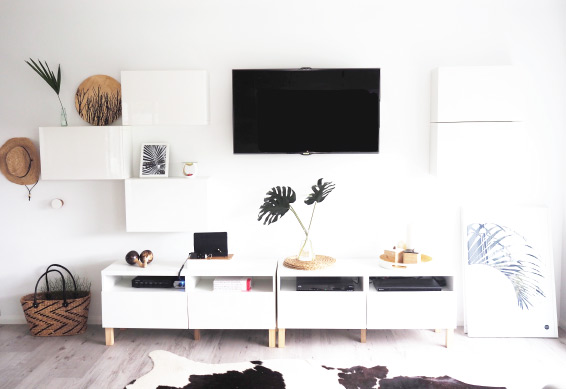 DIY IKEA Besta TV unit hack (via www.tomfo.com)