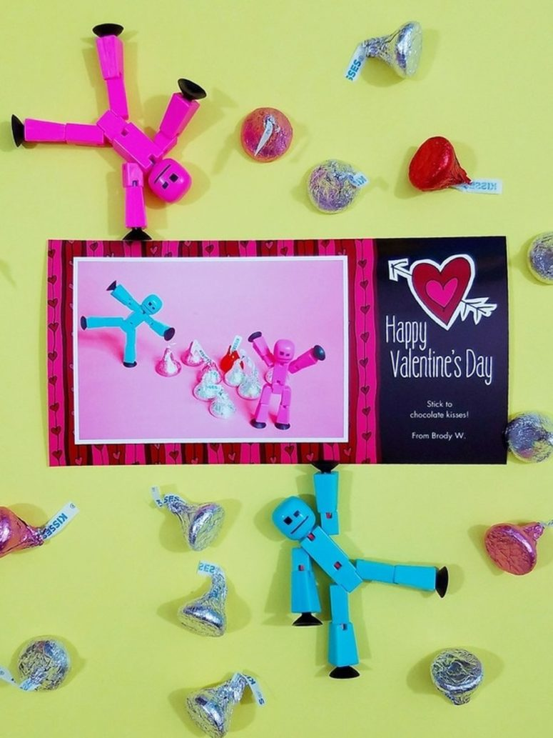DIY kids' photo Valentines (via www.cozyreverie.com)