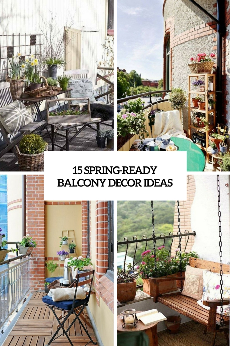15 Spring-Ready Balcony Decor Ideas
