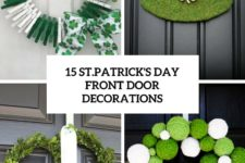 15 st.patrick's day door decorations cover