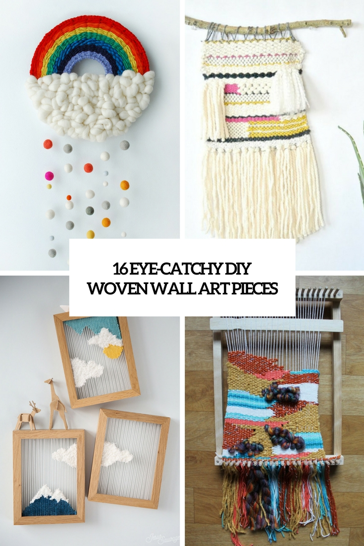 16 Eye-Catchy DIY Woven Wall Art Pieces