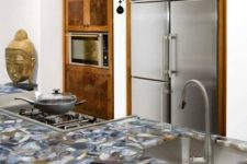 06 agate clad countertops are a very exquisite idea to try, plus they are durable