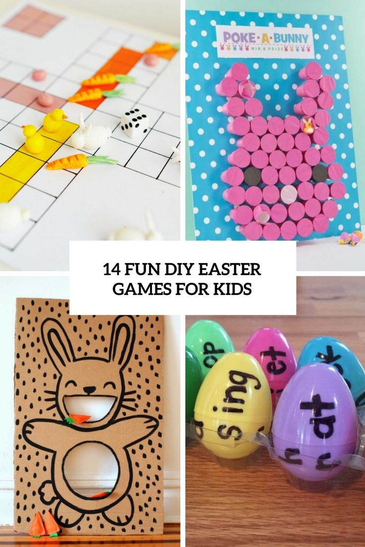 14 Fun DIY Easter Games For Your Kids