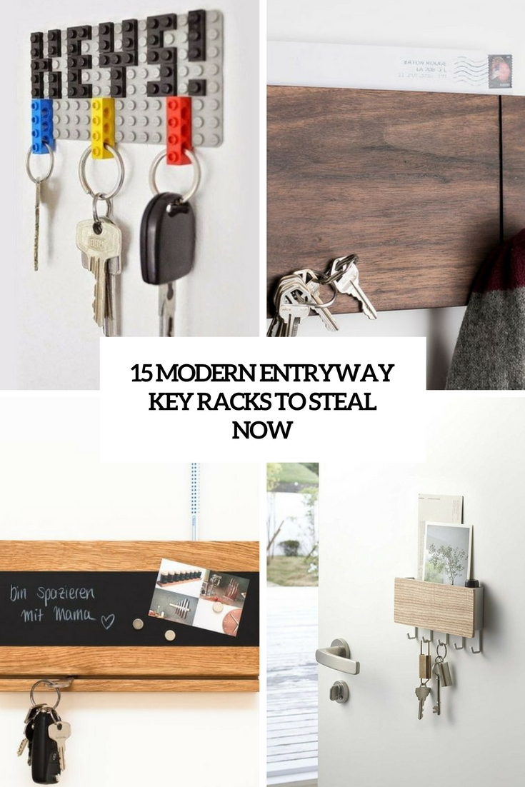 15 Modern Entryway Key Racks To Steal Now