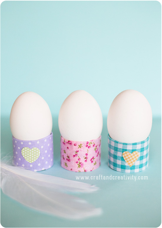 DIY cardboard and washi tape egg holders (via craftandcreativity.com)