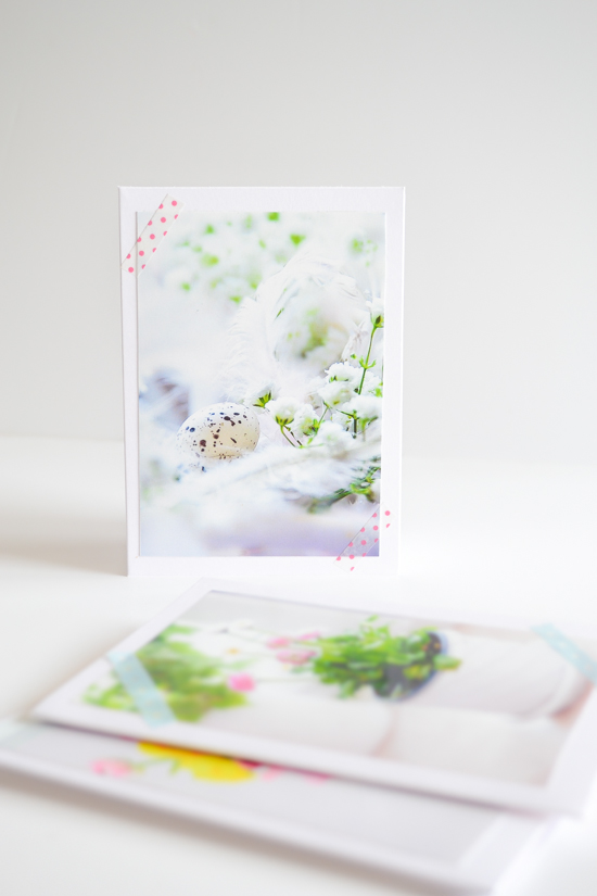 DIY photo Easter cards (via passionshake.com)