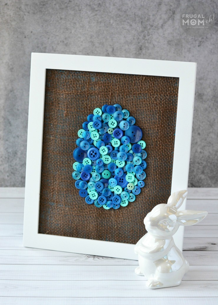 DIY Easter egg button art (via www.frugalmomeh.com)