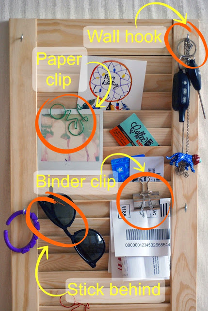 DIY hallway wall mail and keys organizer (via www.thethings-we-do.com)