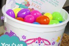 DIY egg neighbor Easter game