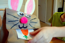 DIY feed bunny game