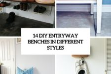 14 diy entryway benches in different styles cover
