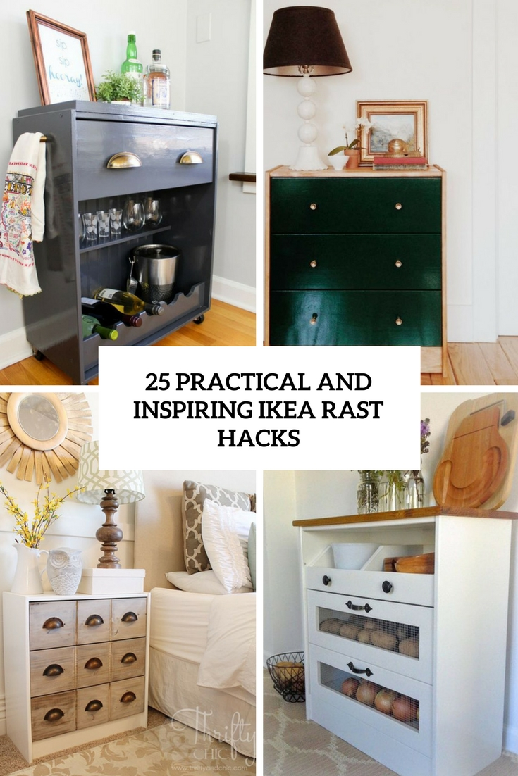 25 Practical And Inspiring IKEA Rast Ideas & Hacks
