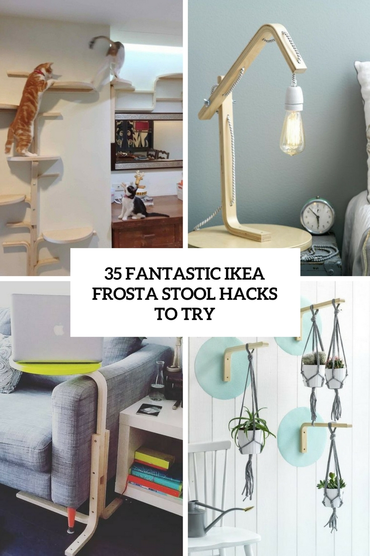 35 Fantastic IKEA Frosta Stool Hacks To Try