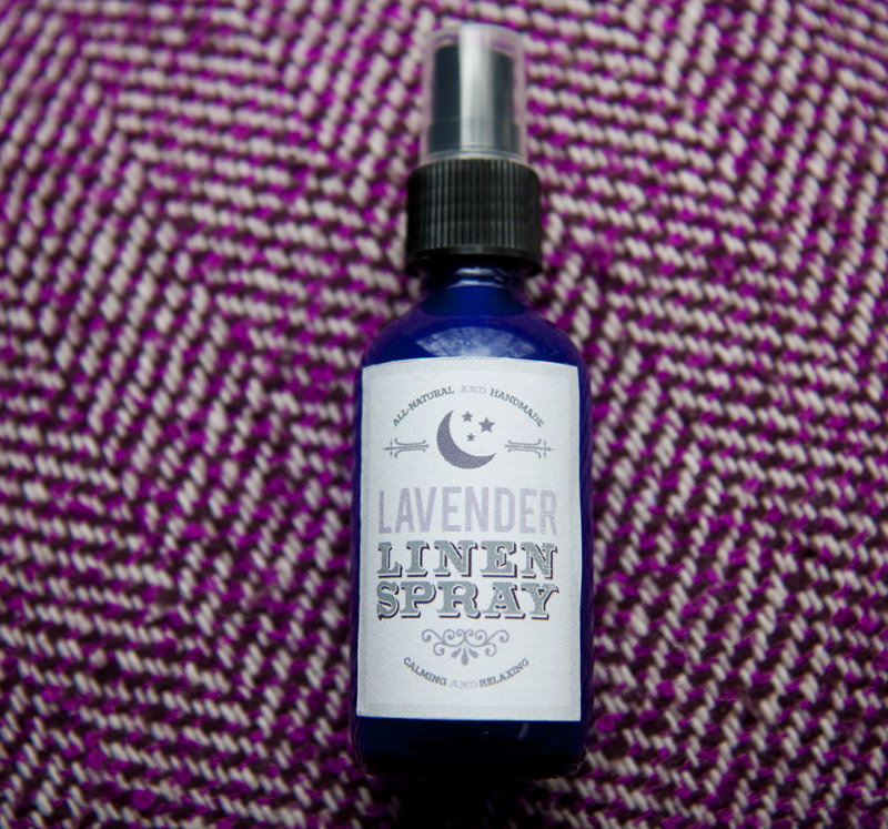 DIY lavender linen spray using essential oils