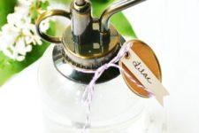 DIY lilac room spray