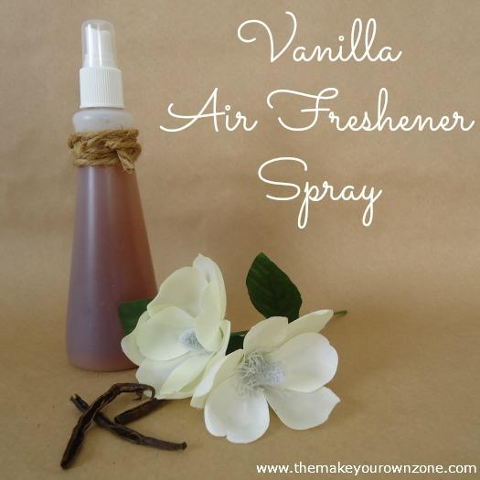 DIY vanilla room spray