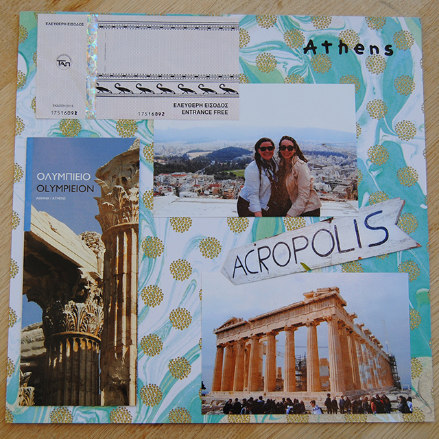 DIY travel collages for shadow boxes (via travelblog.goaheadtours.com)