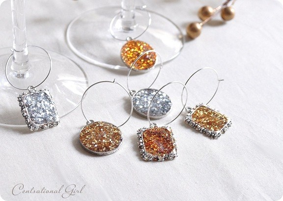 DIY glitter glass charms (via centsationalstyle.com)