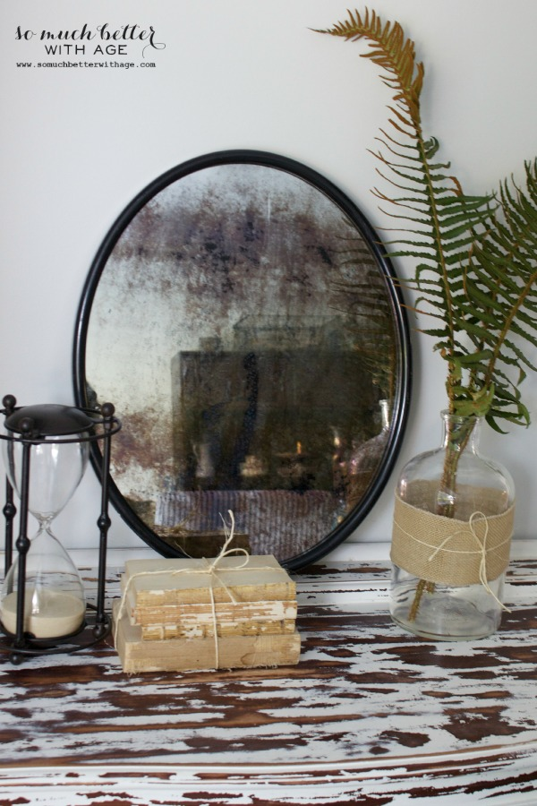 How To Antique A Mirror 9 Fast Diys Shelterness