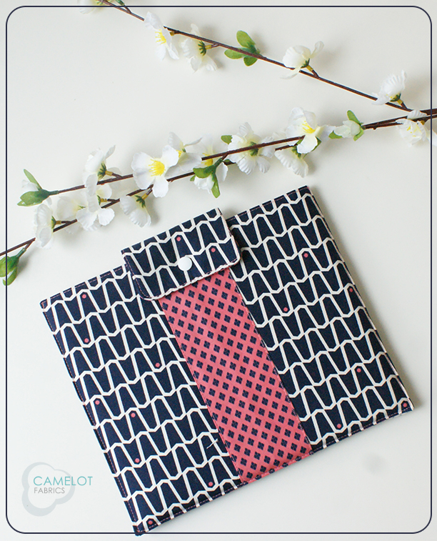 DIY stylish printed fabric tablet case (via www.camelotfabricsblog.com)