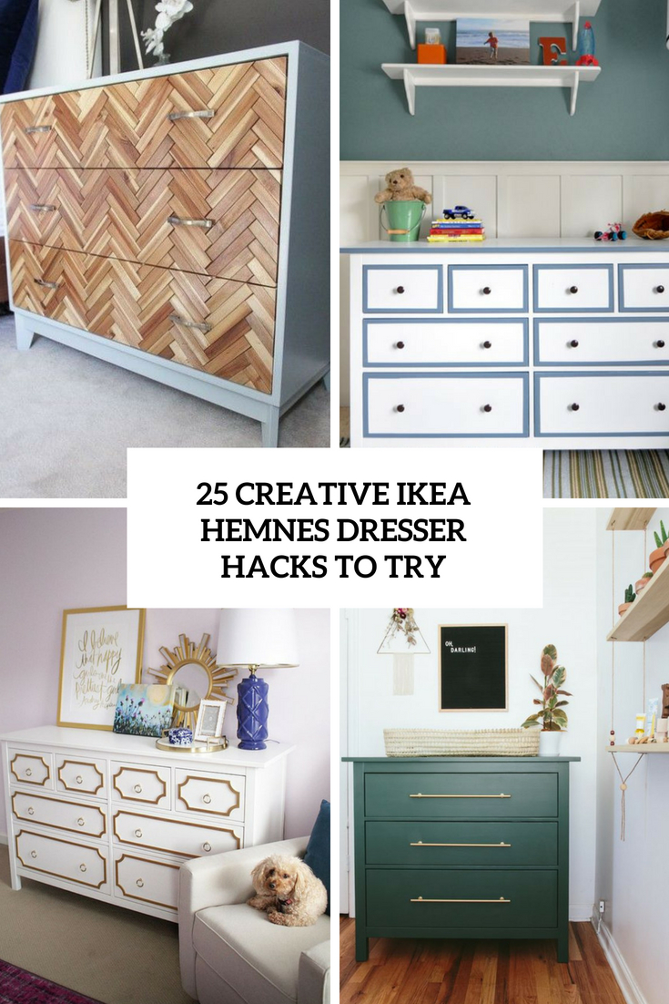 25 Creative IKEA Hemnes Dresser Hacks To Try